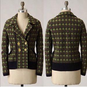 Anthropologie Sparrow Millbrook Cardigan Jacket